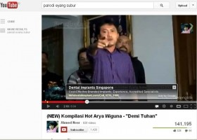 Ini Video Parodi Arya Wiguna Vs Eyang Subur