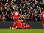 Liverpool Tumbangkan Burnley 2-0