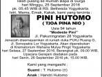 Rest in Peace Pini Hutomo