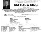Rest in Peace - Sia Hauw Sing