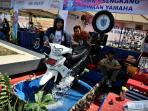 FOTO-FOTO: Motor Modifikasi di Blue Core Yamaha