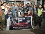 FOTO: Vespa Scooter Owner Group Makassar Tur Keliling Indonesia