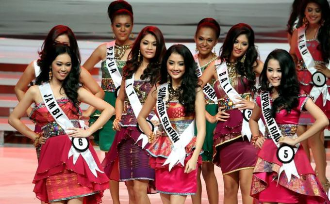 Elfin Pertiwi Runner Up Puteri Indonesia 2014