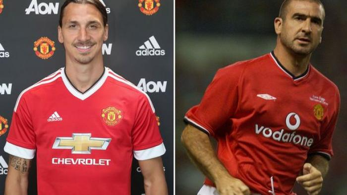 Image result for ibrahimovic dan eric cantona