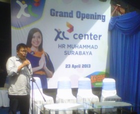XL Center HR Muhammad Surabaya Diresmikan