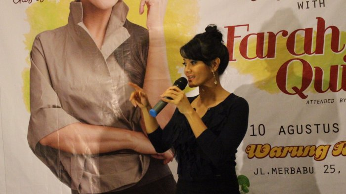 Farah Quiin launching varian rasa baru Queen Apple