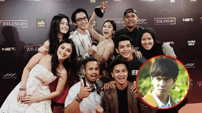 Film 'Dilan 1990' menang Movie of the Year di ajang penghargaan Indonesian Choice Awards 2018 5.0, Minggu (29/4/2018).