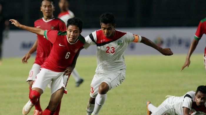 Indonesia vs Singapura Lawan Imbang Menuju SemiFinal Sea Game