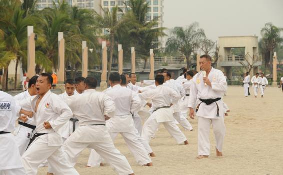 33 Karateka Kota Malang Try Out ke Kediri