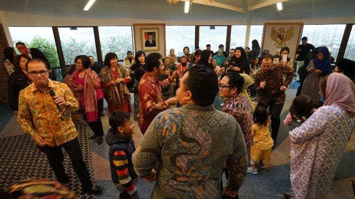 Open House Lebaran di Wisma Duta Wellington