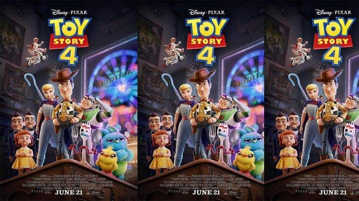 Poster film Toy Story 4