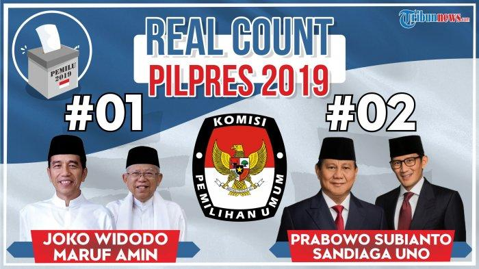 Real Count Pilpres 2019