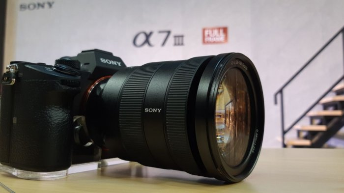 Sony A7 Mark III (TRIBUNNEWS.COM/FAJAR)