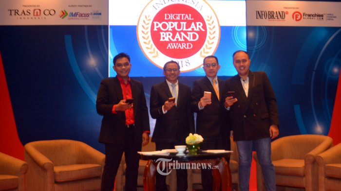 TRAS N CO Indonesia Beri Penghargaan Indonesia Digital Popular Brand Award (IDPBA) 2018.
