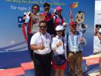 Indonesia Raih Emas dari Beach Rowing Asian Beach Games V