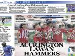 Accrington Stanley Siap Hadapi West Ham United
