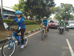 Gowes Jakarta-Surabaya, Haruka JKT48 Selalu Cicipi Kuliner Khas Daerah