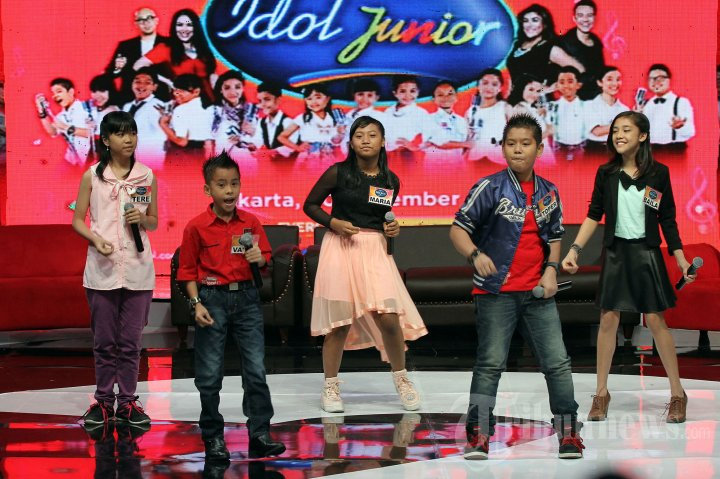 Finalis Indonesian Idol Junior Aksi 5 Finalis Indonesian Idol
