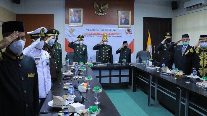 Bupati Aceh Barat Ikuti Peringatan Hari Lahir Pancasila dengan Presiden
