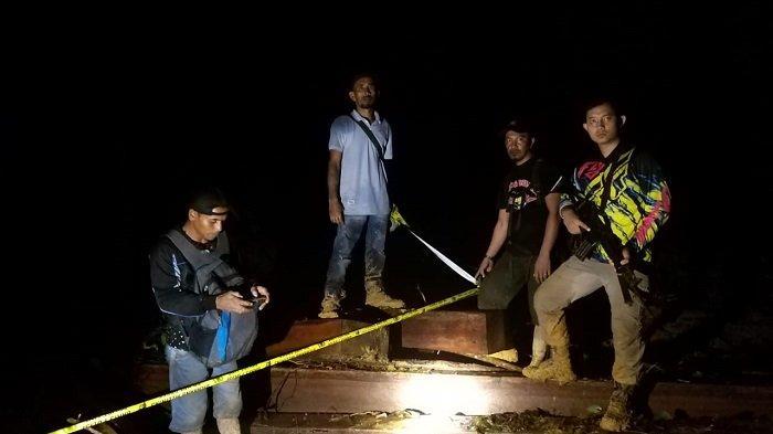 Polres Aceh Jaya Sita 100 Kubik Kayu, di Dalam Kawasan Hutan Lindung