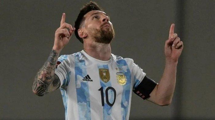 Argentina Hancurkan Uruguay di Kualifikasi Piala Dunia, Lionel Messi Sumbang Satu Gol