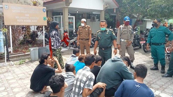 Warga Amankan 13 Remaja Pria & 2 Gadis ABG di Taman Wisata Lambung, Kasusnya Diserahkan ke Satpol PP