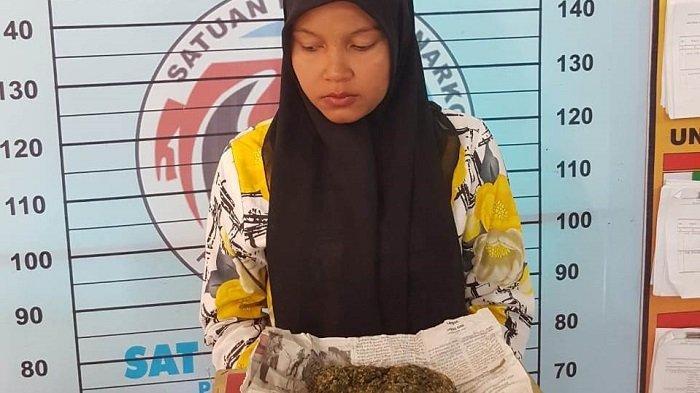 Ibu Muda asal Aceh Utara Pasok Ganja ke Suaminya, Begini Kejadiannya