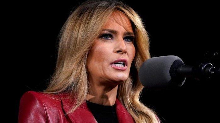 Melania Trump Minta Warga AS Memilih Cinta, Dalam Pesan Tak Terlupakan di Gedung Putih