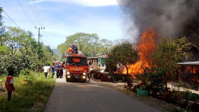 3 Rumah Terbakar di Bener Meriah, Uang Rp 40 Juta, Emas 5 Gram dan Sepmor Hangus Terbakar