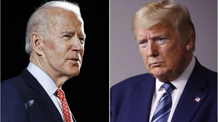 Joe Biden dan Donald Trump Saling Kritik, Tampil di Media Sayap Kanan, Sebut Pendukungnya Tetap Kuat