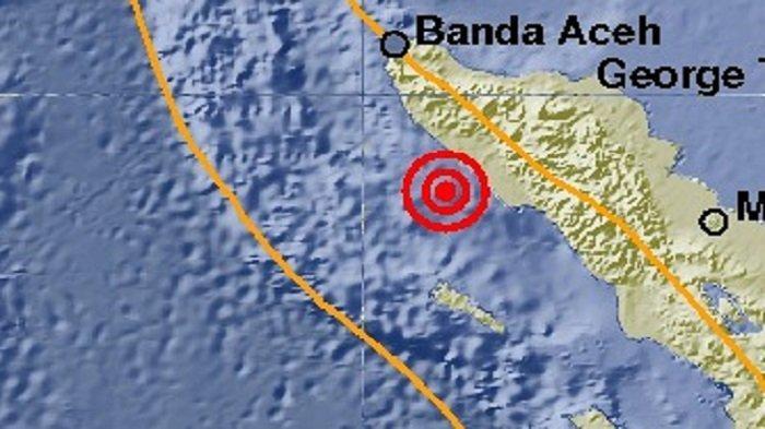 Gempa 4,9 SR Terpusat di Meulaboh Dirasakan Goyangan Hingga ke Nagan Raya