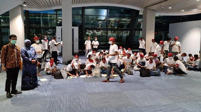 Nelayan Aceh Jalani Tes Swab di Jakarta sebelum Dipulangkan ke Aceh