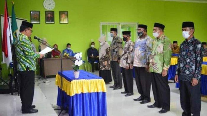 Ini 6 Kepala Madrasah yang Baru di Subulussalam dan Pesan Kakankemenag Juniazi saat Pelantikan