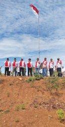 PKS Aceh Gelar Upacara HUT Ke-76 RI di Barbate