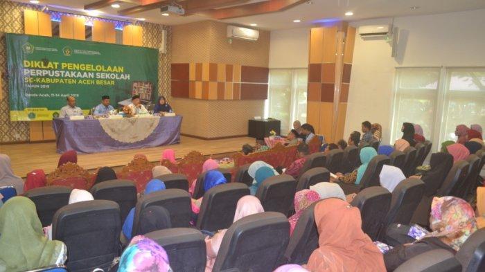 Pengelola Pustaka Sekolah Se-Aceh Besar Ikut Diklat