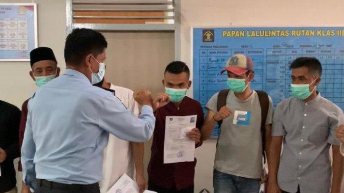 Tujuh Napi Rutan Takengon Aceh Tengah Dapat Asimilasi di Rumah, Ini Syarat Memperolehnya