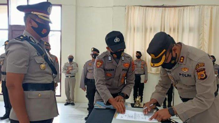 Kapolres Aceh Selatan Pimpin Sertijab PJU Polres Aceh Selatan