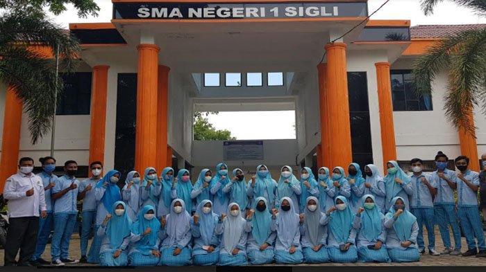 40 Siswa SMAN 1 Sigli Diundang Masuk Perguruan Tinggi, 7 di Antaranya Peraih Juara KSN Provinsi