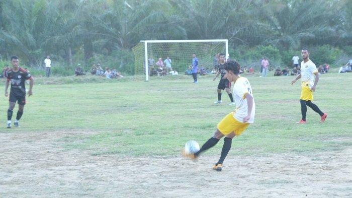 Kalahkan Batuphat Putra, Mantara Lolos ke Babak Delapan Besar Turnamen Sepakbola di Lhokseumawe