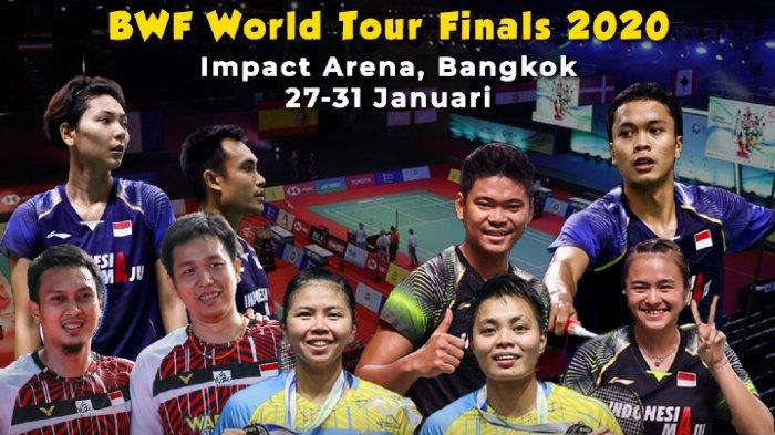 Hasil Lengkap BWF World Tour Finals 2020 Fase Grup Hari Pertama, 3 Wakil Indonesia Telan Pil Pahit