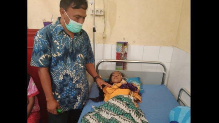 Viral di Media Sosial, Bocah Menderita Tifus Akut Akhirnya Dirujuk ke RSU Cut Meutia