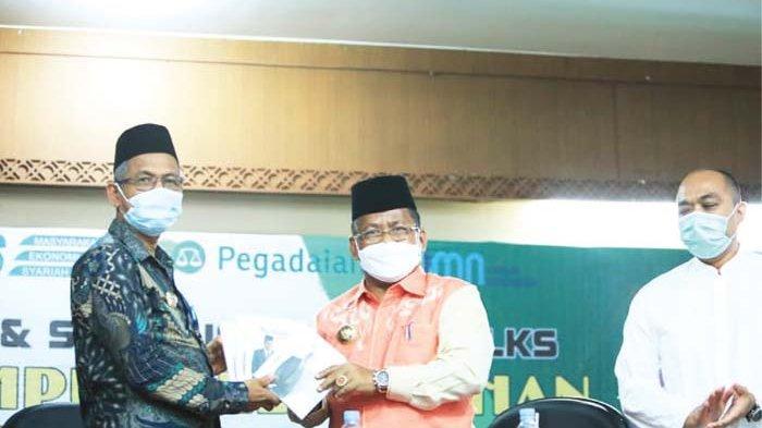 Aminullah Keynote Speaker Seminar Ekonomi Syariah di Nagan Raya