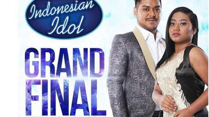 Abdul dan Maria Bersaing Raih Juara Indonesian Idol 2018, Ternyata di Belakang Panggung Mesra Begini