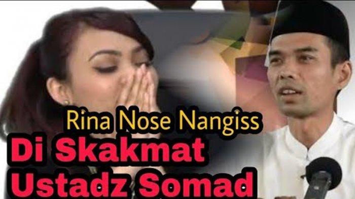 VIDEO - Sebut Rina Nose Pesek dan Buruk Usai Lepas Hijab, Begini Klarifikasi Ustaz Abdul Somad