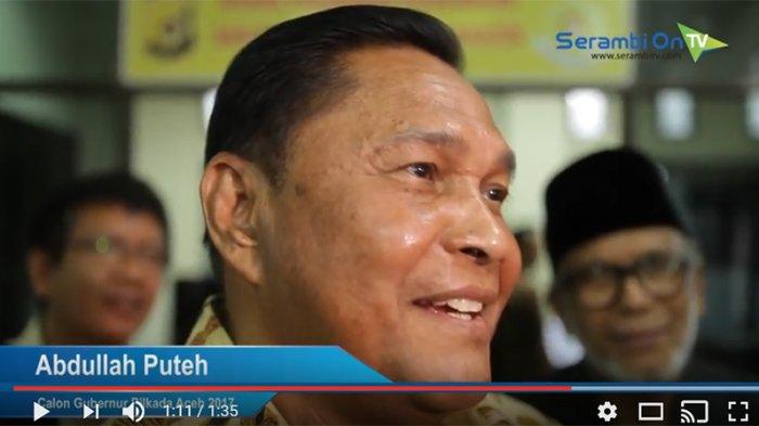 Abdulleh Puteh Maafkan Komisioner KIP Aceh dan KPU serta Cabut Gugatan di DKPP