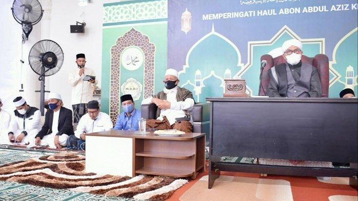 Haul ke-32 Almukarram Abon Abdul Aziz, Ini Pesan Abu Mudi