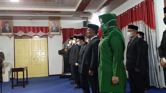 7 Kepala SKPK Dikukuhkan di Pendopo Bupati Pidie, Abusyik Beri Waktu 6 Bulan Tunjukkan Kinerja