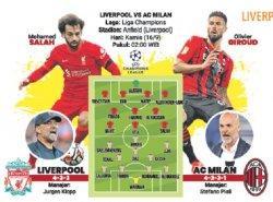 Liverpool vs AC Milan, Aroma Dendam Lama