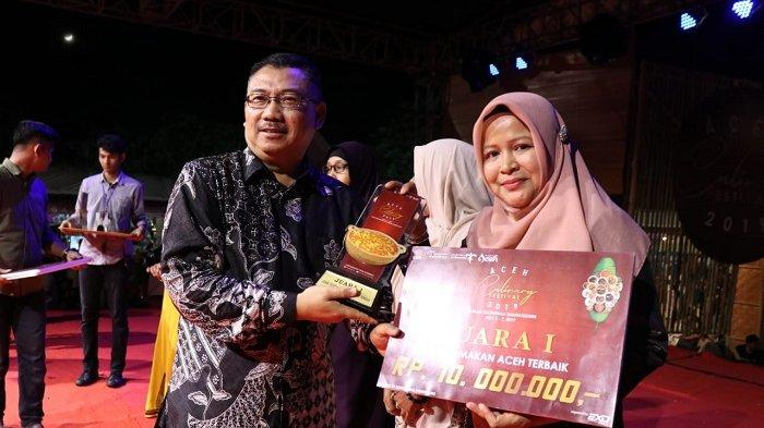 Aceh Besar Juara Kategori Rumah Makan Khas Daerah