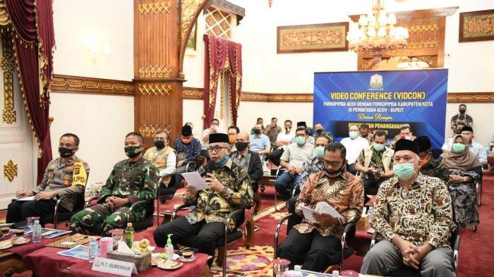Cegah Covid-19, Plt Gubernur Sebut Harus Waspadai Semua yang Datang Ke Aceh